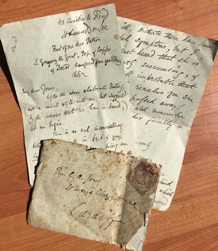 letter 1882 doran